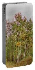Birch Tree #1 Portable Battery Charger