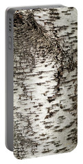 Portable Battery Charger featuring the photograph Birch Tree Bark by Christina Rollo
