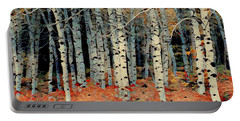 Birch Tree Forest 1 Portable Battery Charger