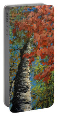 Birch Tree - Minister's Island Portable Battery Charger
