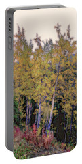 Birch Trees #2 Portable Battery Charger
