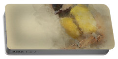Bird And Winter Portable Battery Charger