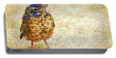 Bird Portable Battery Charger by Bonnie Willis
