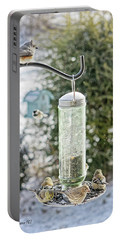 Bird Breakfast Portable Battery Charger