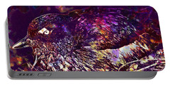 Bird Cassins Auklet Crested Birds  Portable Battery Charger