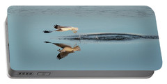 Bird Catching Fish For Breakfast  Portable Battery Charger