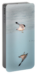 Bird Caught Fish Portable Battery Charger