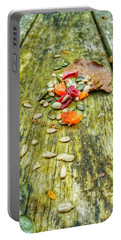 Bird Food Portable Battery Charger by Isabella F Abbie Shores FRSA