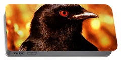 Portable Battery Charger featuring the photograph Bird Friend  by Colette V Hera  Guggenheim