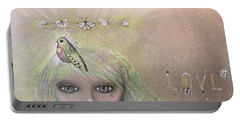 Bird From Spirit World  Portable Battery Charger