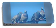 Bird Gossip Portable Battery Charger