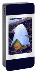 Bird House Christmas Portable Battery Charger