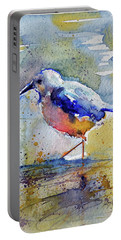 Bird In Lake Portable Battery Charger