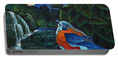 Bird In Paradise Viii Portable Battery Charger