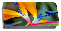 Bird Of Paradise After The Rain Portable Battery Charger