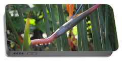 Bird Of Paradise Dripping Portable Battery Charger