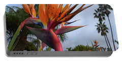 Bird Of Paradise Peace And Joy Portable Battery Charger
