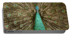 Peacock Portable Battery Charger by Werner Padarin