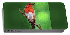 Bird On A Branch Portable Battery Charger