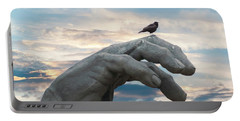 Bird On Hand Portable Battery Charger
