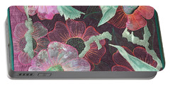 Birds And Blooms Portable Battery Charger