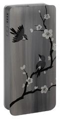 Birds And Blossoms Portable Battery Charger