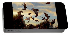 Birds And Fun At Butler Park Austin - Birds 1 Portable Battery Charger