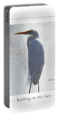 Birds And Fun At Butler Park Austin - Birds 2 Macro Poster Portable Battery Charger