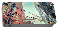 Birds In New York City Portable Battery Charger