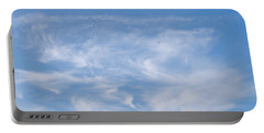 Portable Battery Charger featuring the photograph Birds In The Sky by Jenny Rainbow