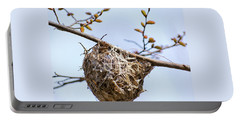 Portable Battery Charger featuring the photograph Birds Nest by Christina Rollo