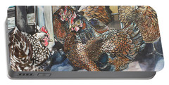 Birds Of A Feather Portable Battery Charger by Stephanie Come-Ryker