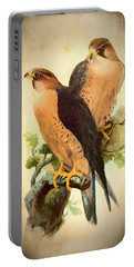 Birds Of Prey 1 Portable Battery Charger by Charmaine Zoe