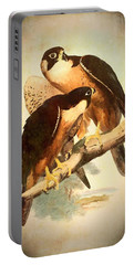 Birds Of Prey 2 Portable Battery Charger by Charmaine Zoe