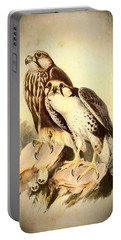 Birds Of Prey 3 Portable Battery Charger by Charmaine Zoe