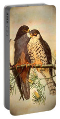 Birds Of Prey 4 Portable Battery Charger by Charmaine Zoe