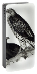 Birds Of Prey Portable Battery Charger by Charles Darwin