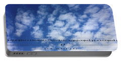 Birds On Wire Portable Battery Charger