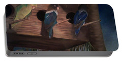 Birds Resting Portable Battery Charger