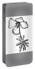 Birdsfoot Violet Portable Battery Charger
