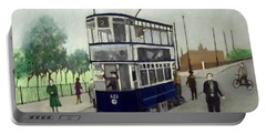 Birmingham Tram With Figures Portable Battery Charger