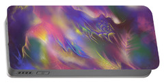 Portable Battery Charger featuring the digital art Birth Of The Phoenix by Amyla Silverflame