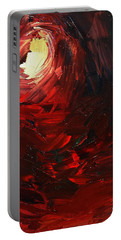 Portable Battery Charger featuring the painting Birth by Sheila Mcdonald
