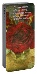 Birthday Roses With Poem  Portable Battery Charger