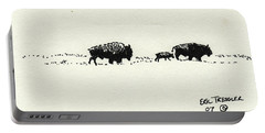 Bison Family Portable Battery Charger