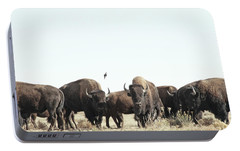 Bison Portable Battery Charger by Lauren Mancke