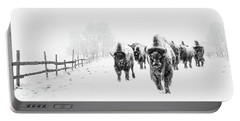 Bison On The Run Portable Battery Charger