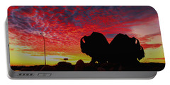 Bison Sunset Portable Battery Charger