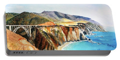 Bixby Bridge Big Sur Coast California Portable Battery Charger