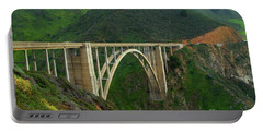 Bixby Bridge In Big Sur Portable Battery Charger